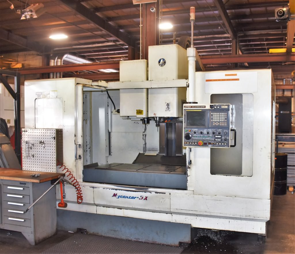 Kitamura-Mycenter-5X-CNC-Vertical-Machining-Center