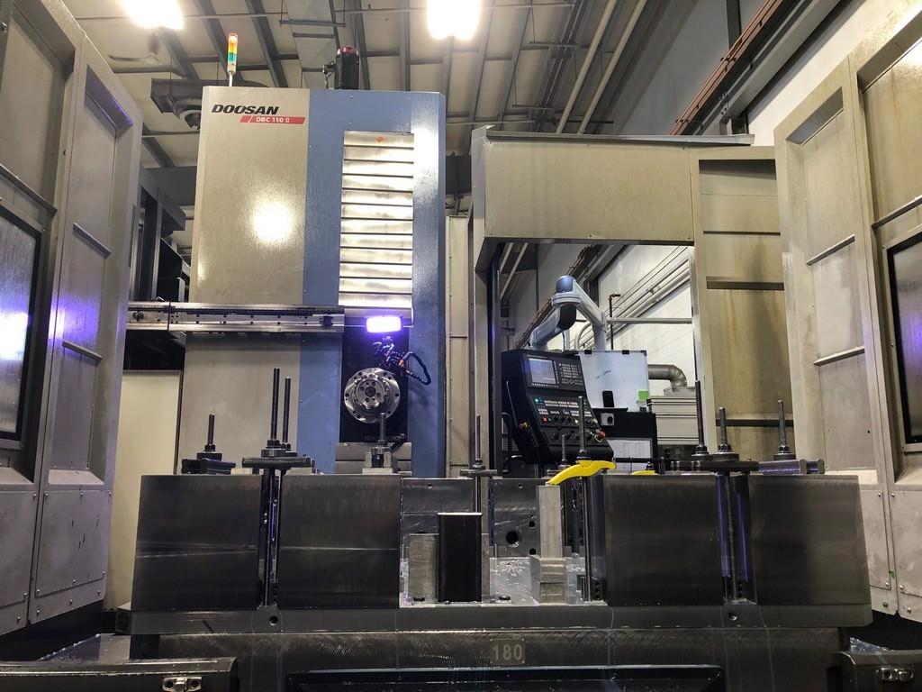 Doosan-DBC-110-II-CNC-Table-Type-Horizontal-Boring-Mill