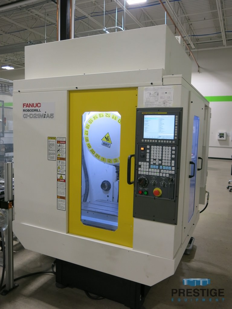 FANUC-Robodrill-Alpha-D21MiA5-CNC-Drilling-and-Tapping-Center