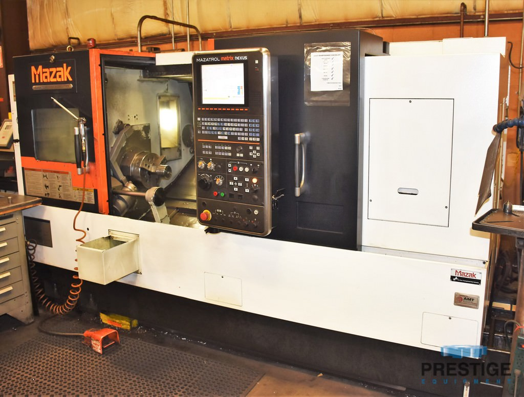 Mazak-QTN250MY-II-CNC-Turning-Center-with-Live-Milling