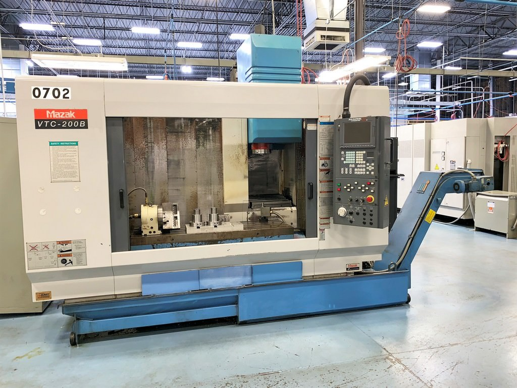 Mazak-VTC-200B-4-Axis-CNC-Vertical-Machining-Center
