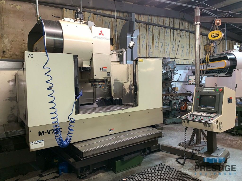 Mitsubishi-MV70C-CNC-Vertical-Machining-Center