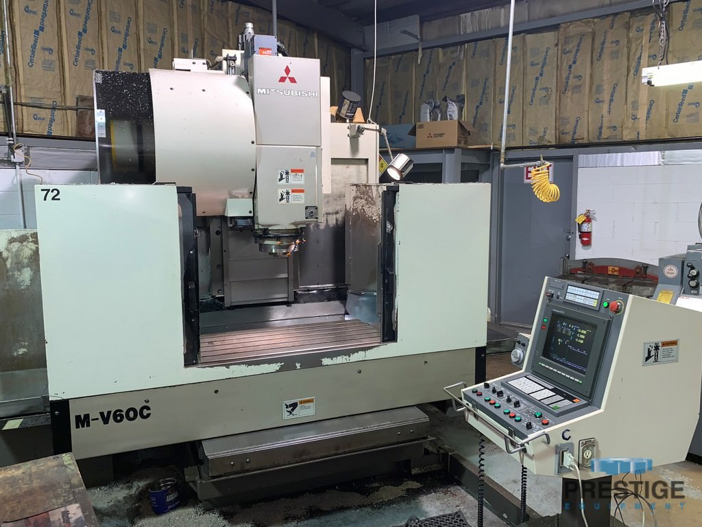 MITSUBISHI-M-V60C-CNC-Vertical-Machining-Center