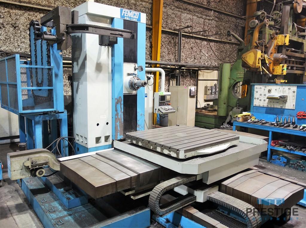 Femco-BMC-110R2-4.33-Table-Type-Horizontal-Boring-Mill